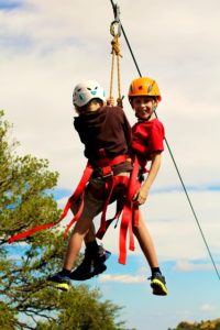 Actividad para niños - Tirolina