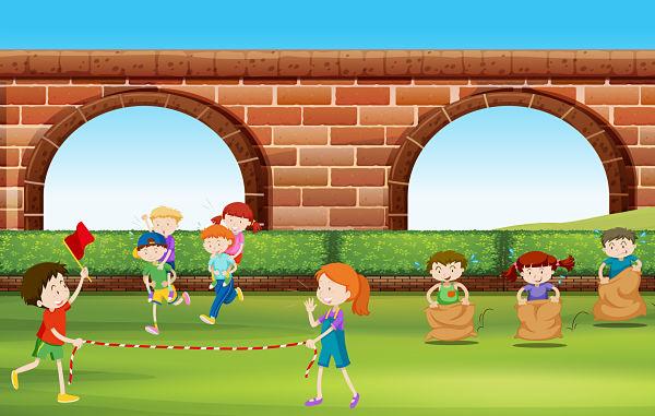 Juegos para niños en Grupos